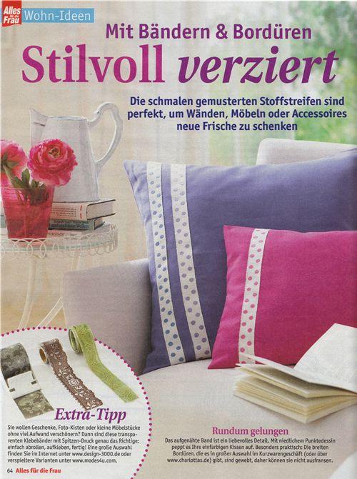 We are in the new 'Alles für die Frau' magazine 2