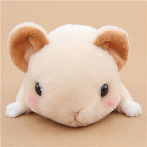 kawaii beige pika Kyun To Naki Usagi Nenne plush toy from Japan