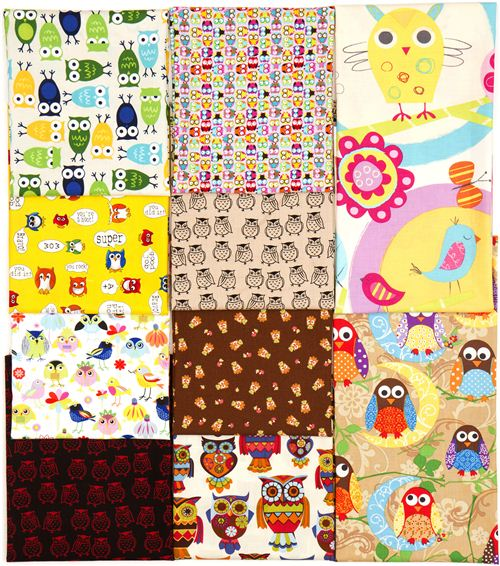 What a hoot: 10 owl fabrics on My Owl Barn