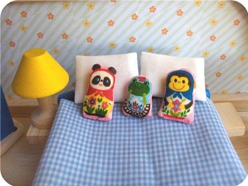 Zakka Life Project: Miniature Stuffed Pillows 1