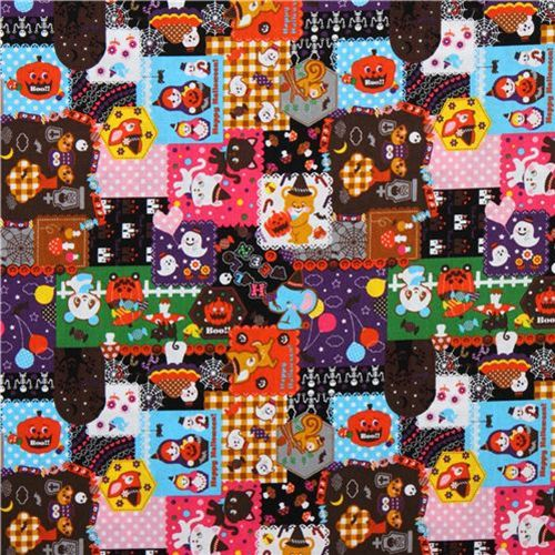 cute Christmas fabrics and Halloween fabrics 2010 7