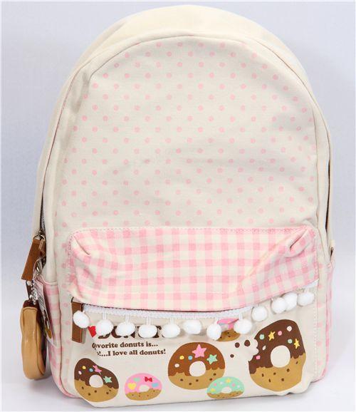 cute donuts backpack from Japan kawaii