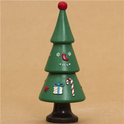 cute fir tree Christmas figure concombre from Japan