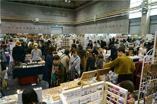 modeS4u visits the Osaka DIY Show