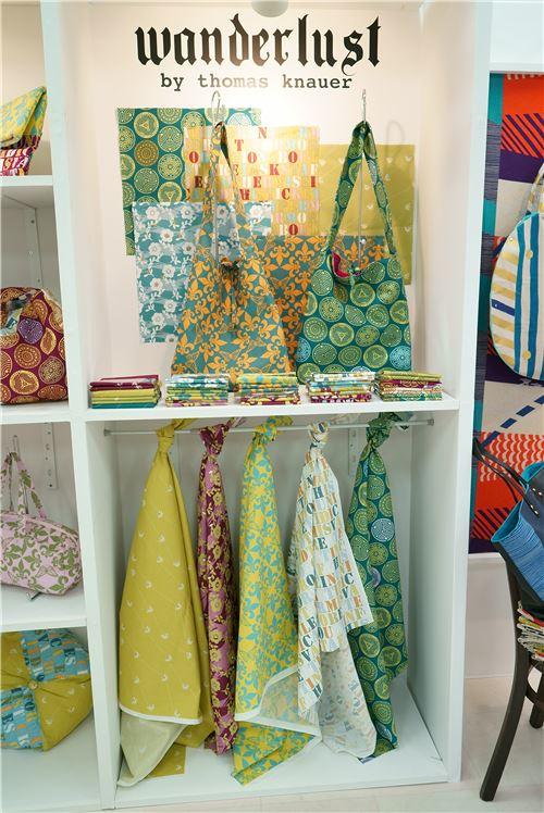 Wanderlust fabrics by Thomas Knauer