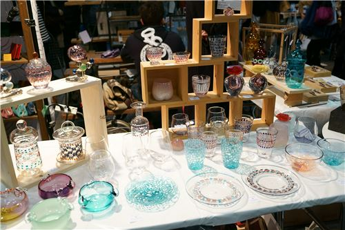 Goregous glass items