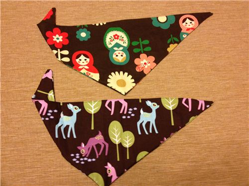 Sandra sewed these bibs for her little nieces