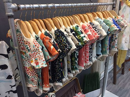 Baby clothes made of Birch fabrics
