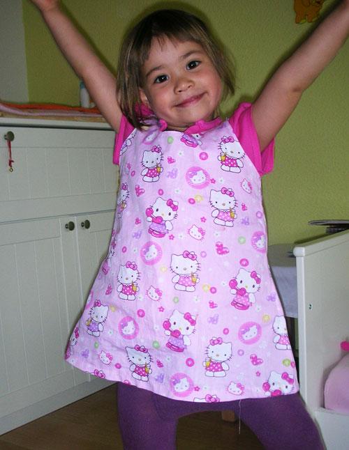 Nami's new Hello Kitty dress