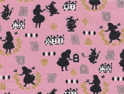 Kokka fabric Alice in Wonderland