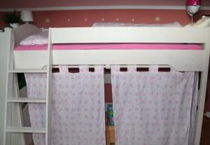 Hello Kitty Curtains DIY