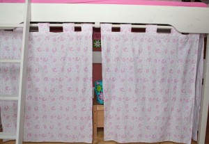 Hello Kitty Bed Curtains